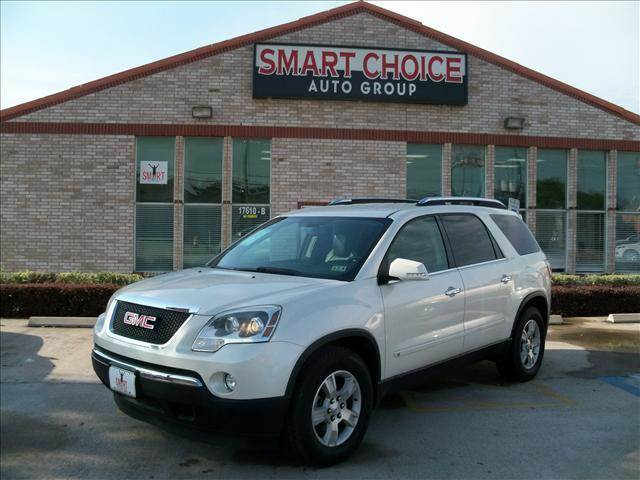 2009 GMC ACADIA SLT-1 4DR SUV white body side moldings - body-color door handle color - chrome