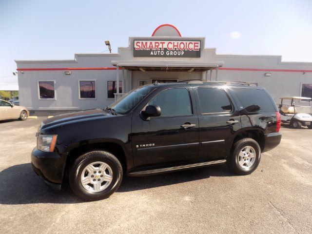 2008 CHEVROLET TAHOE LS 2WD black abs brakesair conditioningalloy wheelsamfm radioautomatic
