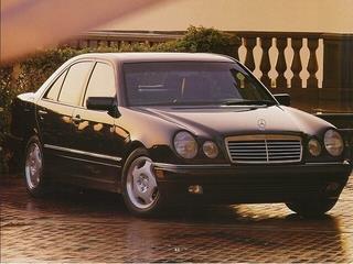 1998 MERCEDES-BENZ E-CLASS E320 4DR SEDAN beige laporte mitsubishi w in-house advantage also can