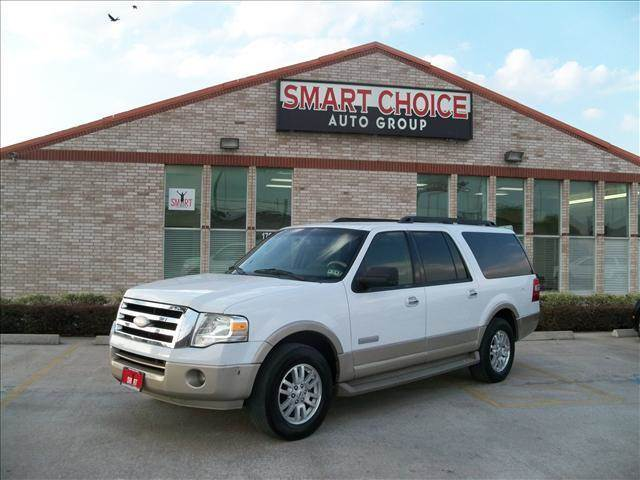 2007 FORD EXPEDITION EL EDDIE BAUER 4DR SUV white 137788 miles VIN 1FMFK17527LA72351