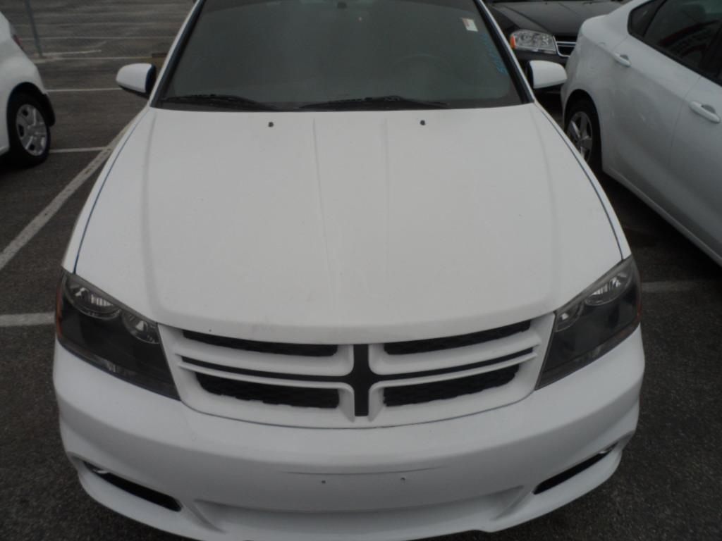 2011 DODGE AVENGER HEAT 4DR SEDAN white laporte mitsubishi w in-house advantage also can put a po