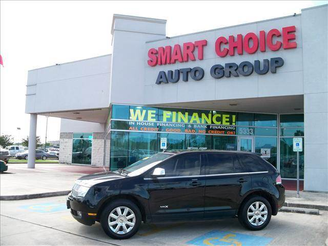 2007 LINCOLN MKX BASE AWD 4DR SUV black grille color - chrome rear spoiler air filtration cent