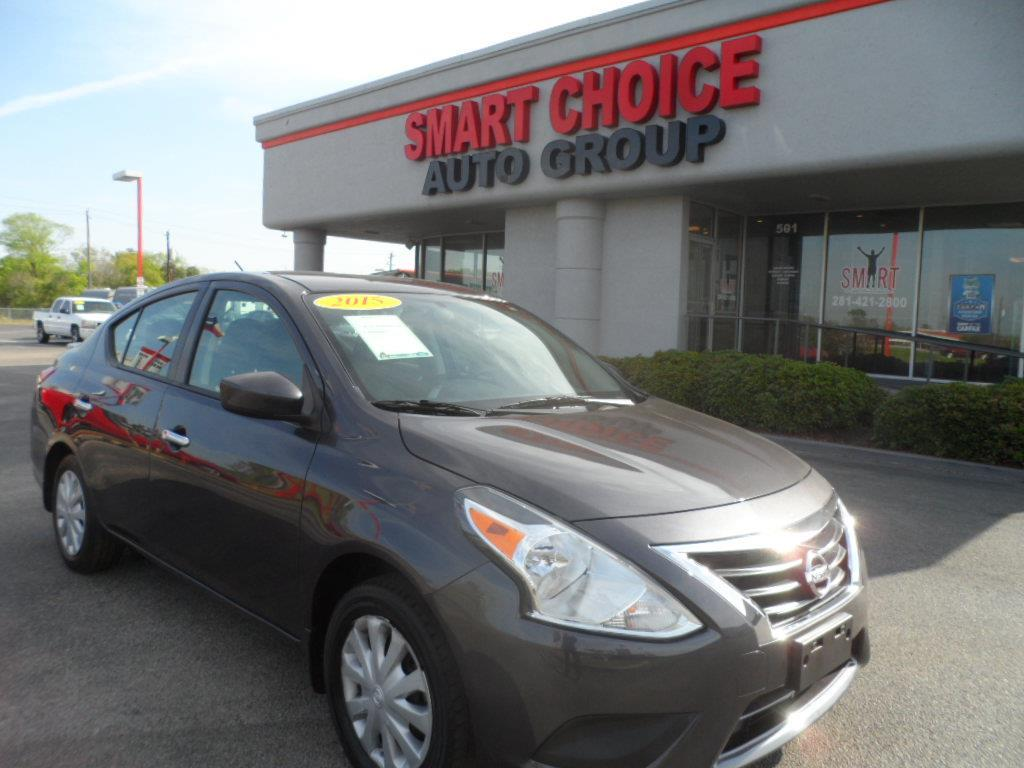 2015 NISSAN VERSA 16 S grey laporte mitsubishi w in-house advantage also can put a positive mar