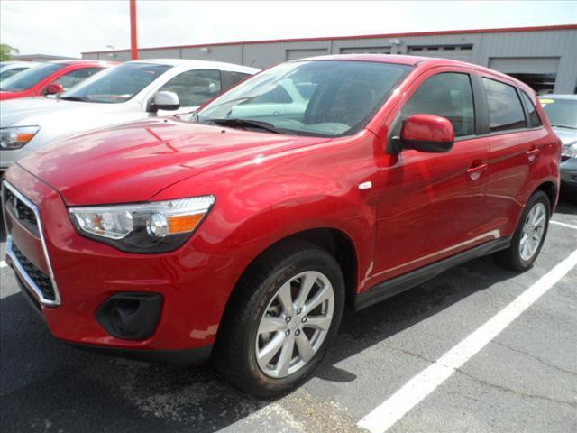 2015 MITSUBISHI OUTLANDER SE 4DR SUV rally red pushpullordrag --independence freedom sale--