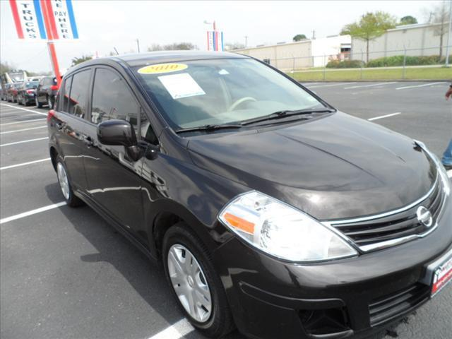 2010 NISSAN VERSA black pushpullordrag --independence freedom sale--  declare  save more t