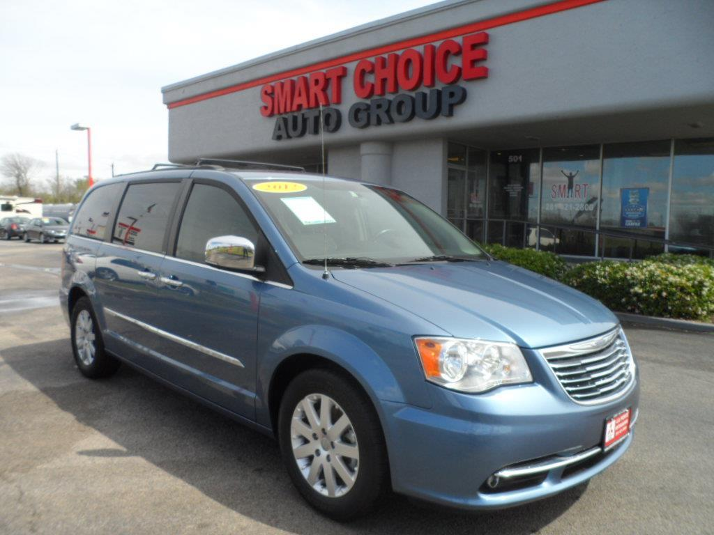 2012 CHRYSLER TOWN AND COUNTRY TOURING-L 4DR MINI VAN blue thank you very much for the opportunit