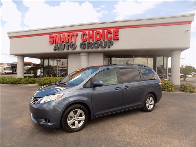 2013 TOYOTA SIENNA blue follow the white rabbit --patriot sale-- right now with 0 down with