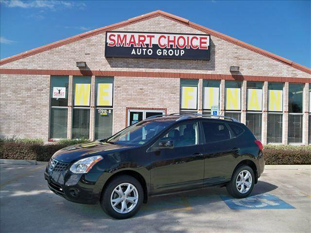 2009 NISSAN ROGUE AWD black options 4wdawdabs brakesair conditioningalloy wheelsamfm radiocarg