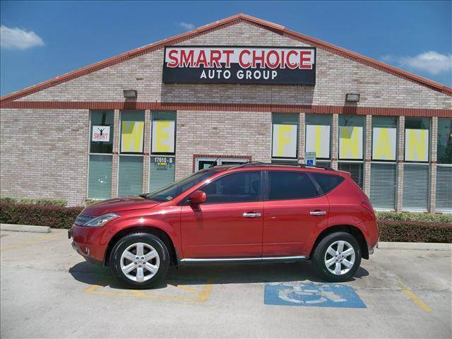 2006 NISSAN MURANO V6 2WD sunset red pearl metallic options abs brakesair conditioningalloy whee