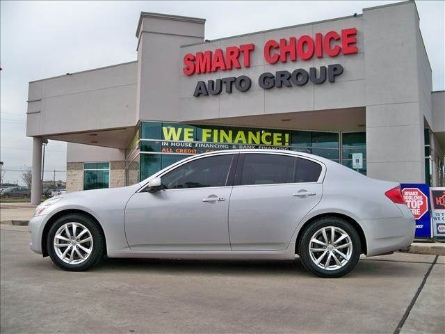 2007 INFINITI G35 BASE silver abs brakesair conditioningalloy wheelsamfm radiocargo area tie
