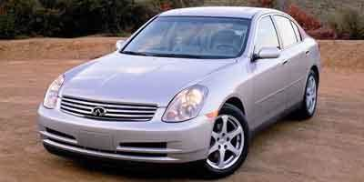 2004 INFINITI G35 SEDAN brilliant silver metallic options automatic 35l v6 cylinder engine re
