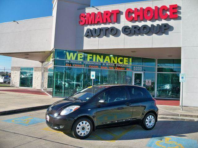 2007 TOYOTA YARIS 3DR HATCHBACK black sand pearl options air conditioningcargo area coverchild s