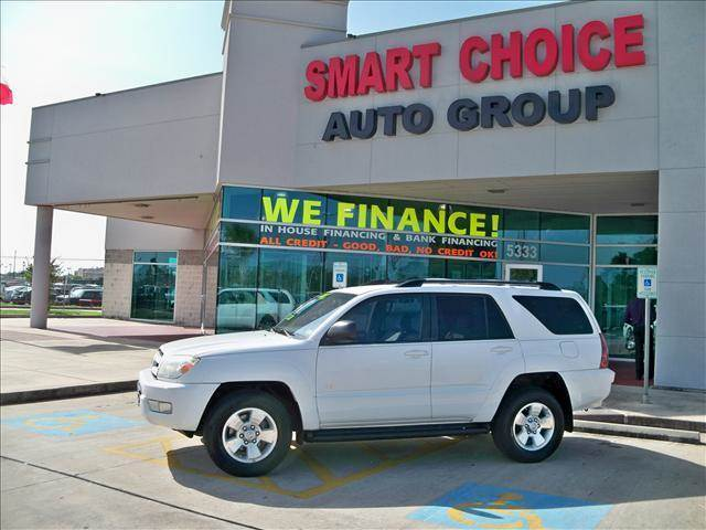 2004 TOYOTA 4RUNNER SR5 V6 AUTOMATIC natural white options abs brakesair conditioningalloy wheel