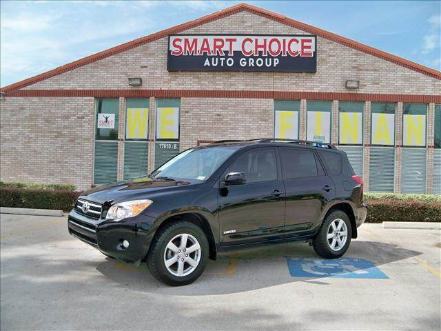 2008 TOYOTA RAV4 FWD 4-CYL 4-SPEED AT LTD black options abs brakesair conditioningalloy wheelsam