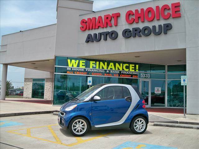 2008 SMART FORTWO COUPE PASSION blue metallic options abs brakesair conditioningalloy wheelsamf