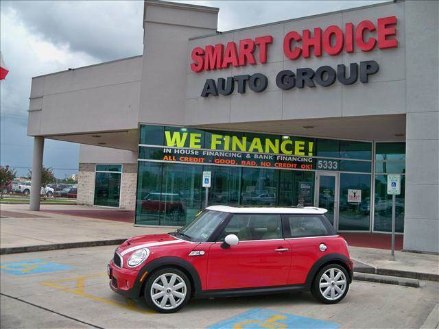 2007 MINI COOPER COUPE S chili red options abs brakesair conditioningalloy wheelsamfm radiocd p