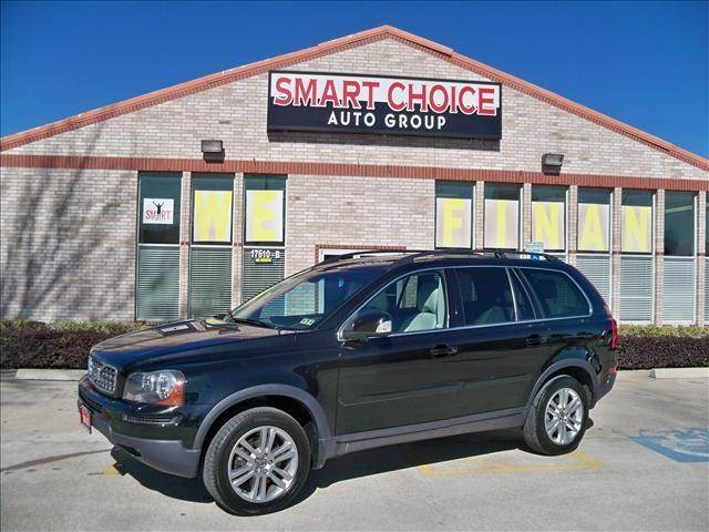 2008 VOLVO XC90 FWD I6 WSUNROOF3RD ROW black options abs brakesair conditioningalloy wheelsam