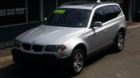 2005 BMW X3 for sale in Algona, WA