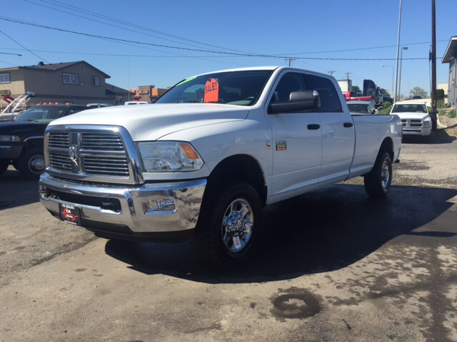 2012 RAM RAM PICKUP 2500 SLT 4X4 4DR CREW CAB 8 FT LB PI unspecified 4wd type - part time abs -