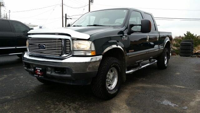 2003 FORD F-350 SUPER DUTY LARIAT 4DR CREW CAB 4WD SB green abs - 4-wheel anti-theft system - ala