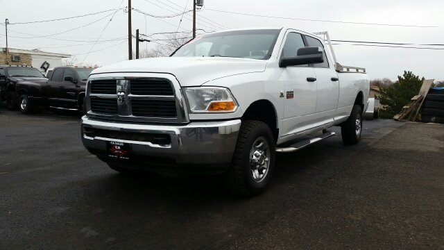 2011 RAM RAM PICKUP 3500 BIG HORN 4X4 4DR CREW CAB 8 FT white 4wd type - part time abs - 4-wheel