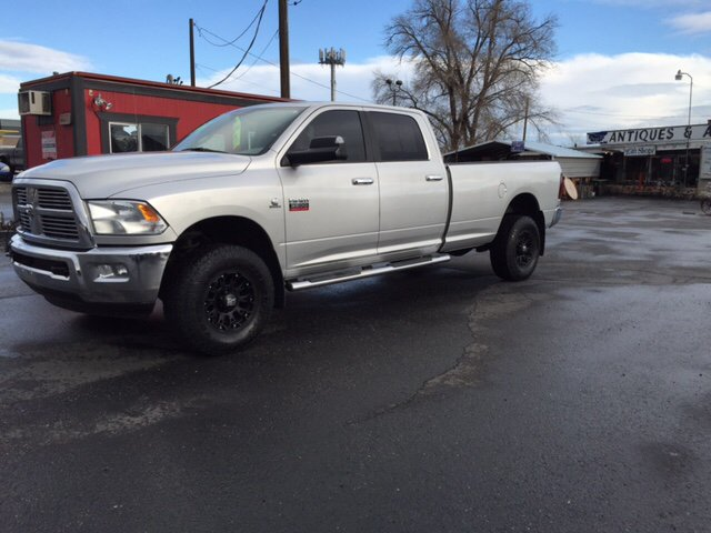 2011 RAM RAM PICKUP 3500 SLT 4X4 4DR CREW CAB 63 FT SB unspecified one owner  4wd type - part ti