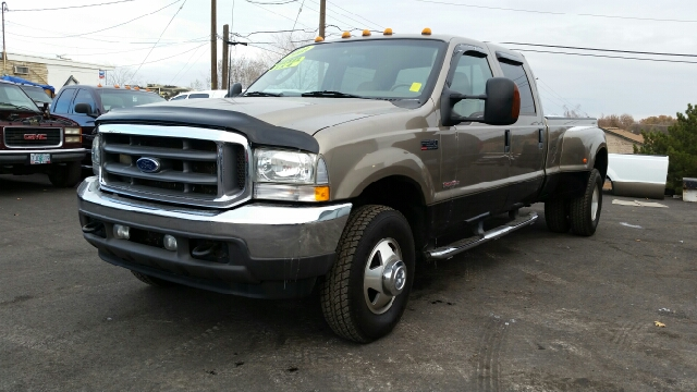 2003 FORD F-350 SUPER DUTY LARIAT 4DR CREW CAB 4WD LB DRW tan abs - 4-wheel anti-theft system - a