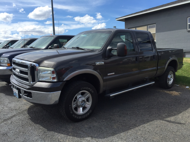 2006 FORD F-350 SUPER DUTY LARIAT 4DR CREW CAB 4WD SB unspecified 4wd selector - manual hi-lo 4w