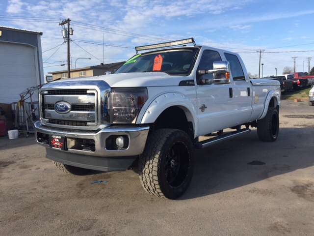 2011 FORD F-350 SUPER DUTY XLT 4X4 4DR CREW CAB 8 FT LB SR unspecified 2-stage unlocking doors