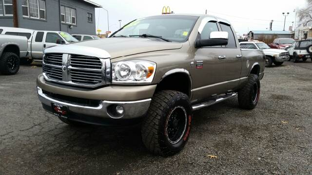 2008 DODGE RAM PICKUP 2500 SLT 4DR QUAD CAB 4WD SB tan egr and dpf delete  2-stage unlocking - re