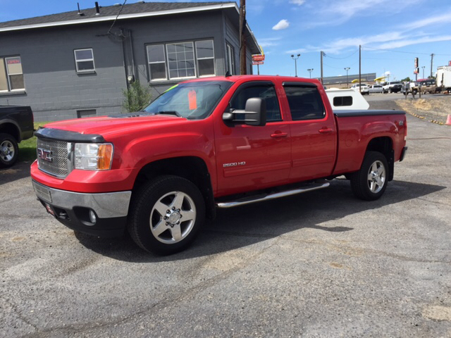2011 GMC SIERRA 2500HD SLT 4X4 4DR CREW CAB SB unspecified 4wd selector - electronic hi-lo 4wd t
