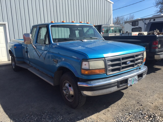 1995 FORD F-350 XL 2DR EXTENDED CAB LB unspecified abs - rear dual rear wheels extended range f