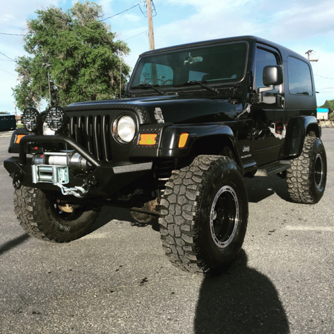 2005 JEEP WRANGLER UNLIMITED 4WD 2DR SUV unspecified brand new 4in rough coun