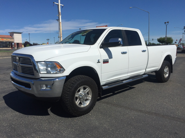 2012 RAM RAM PICKUP 3500 LARAMIE 4X4 4DR CREW CAB 8 FT L unspecified 4wd selector - electronic h