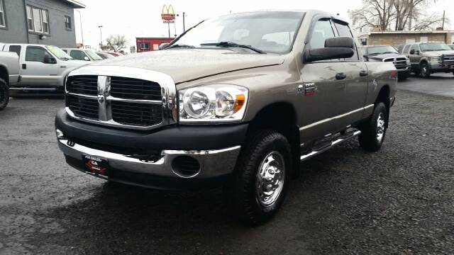2008 DODGE RAM PICKUP 2500 SLT 4DR QUAD CAB 4WD SB tan 2-stage unlocking - remote 4wd type - part