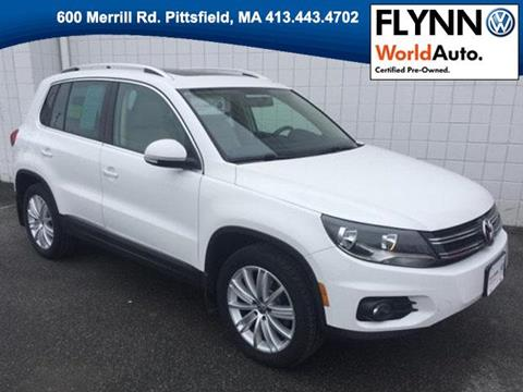 2013 Volkswagen Tiguan for sale in Pittsfield MA