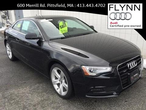 2014 Audi A5 for sale in Pittsfield, MA
