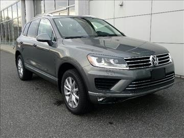 2016 Volkswagen Touareg for sale in Pittsfield, MA