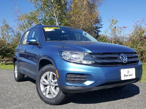 2017 Volkswagen Tiguan for sale in Pittsfield MA