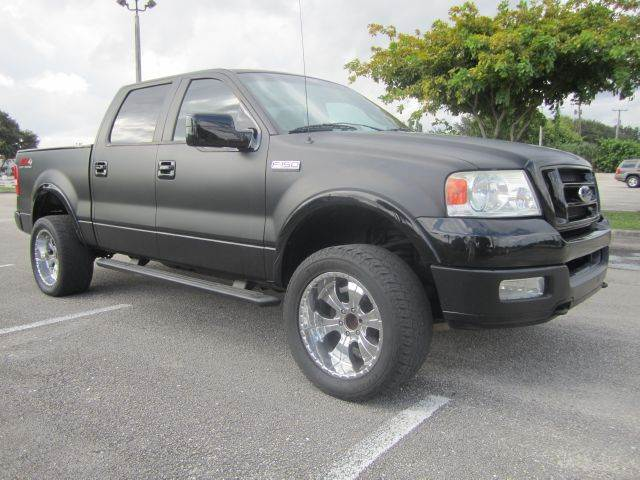 2004 ford f 150 fx4 supercrew 4wd in davie fl rosa 39 s. Black Bedroom Furniture Sets. Home Design Ideas