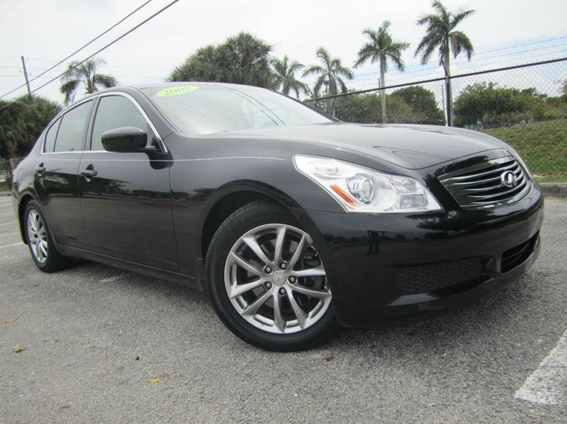 2009 infiniti g37 sedan journey 4dr sedan in davie fl. Black Bedroom Furniture Sets. Home Design Ideas