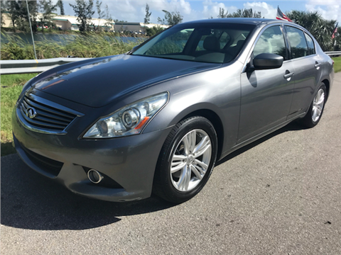 2010 Infiniti G37 Sedan for sale in Davie, FL