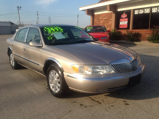2000 Lincoln Continental For Sale In Louisville Ky