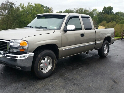 2002 GMC Sierra 1500 for sale in Jonestown, PA