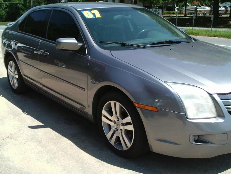 2007 ford fusion i 4 se 4dr sedan in tallahassee fl. Black Bedroom Furniture Sets. Home Design Ideas