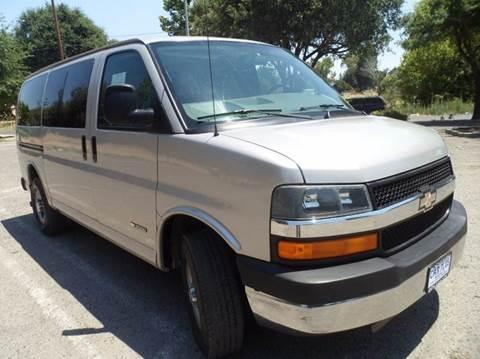 2006 Chevrolet Express Passenger for sale in Modesto, CA