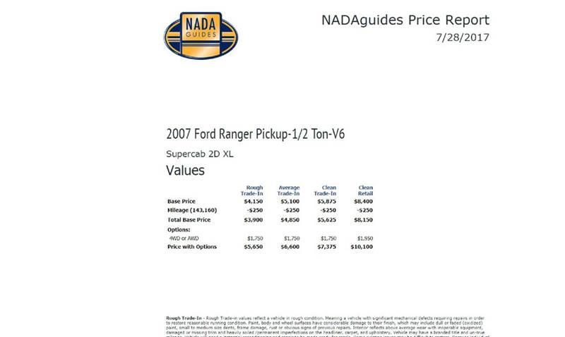 2007 Ford Ranger XL 2dr SuperCab 4WD SB - East Syracuse NY