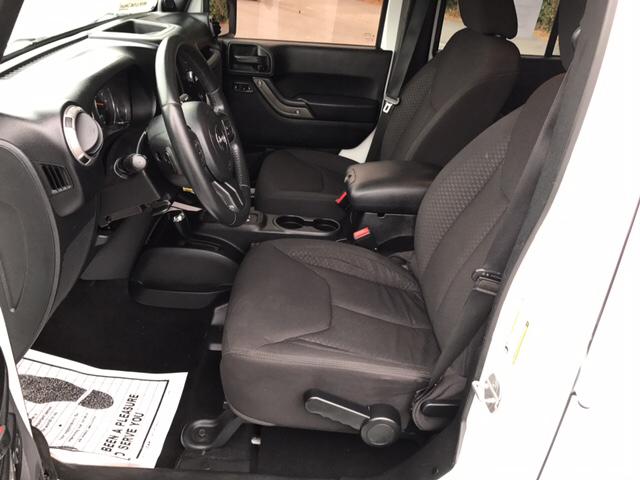 2013 Jeep Wrangler Unlimited 4x4 Sport 4dr SUV - Valdosta GA