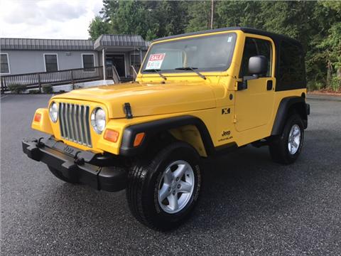 2004 Jeep Wrangler for sale in Valdosta, GA