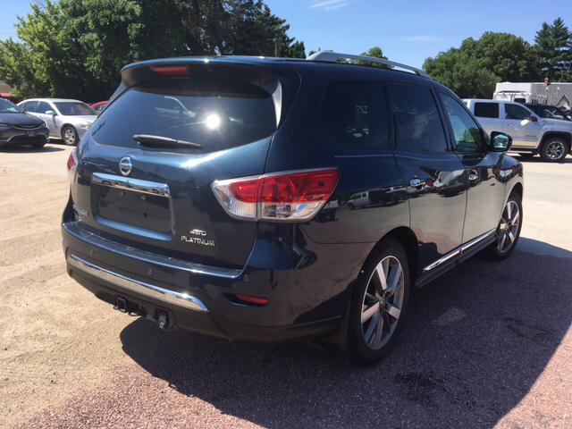 2014 Nissan Pathfinder Platinum 4x4 4dr SUV - Ainsworth NE